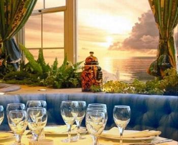 Las mejores vistas de Punta del Este desde el Restaurante.