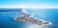 Punta del Este Vista aérea desde la Península de Punta del Este.
